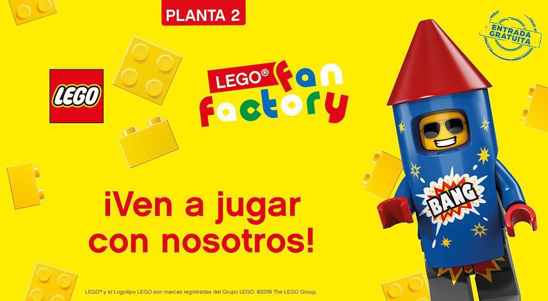 ¡VEN A JUGAR A NUESTRA LEGO FAN FACTORY!