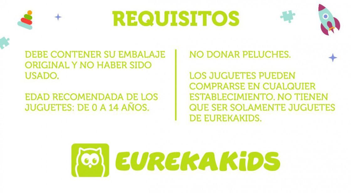 RECOGIDA SOLIDARIA DE JUGUETES EN EUREKAKIDS