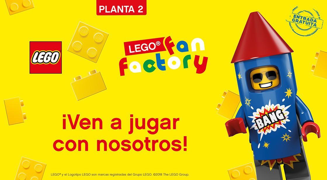 ¡VEN A JUGAR CON NOSOTROS! LEGO FAN FACTORY