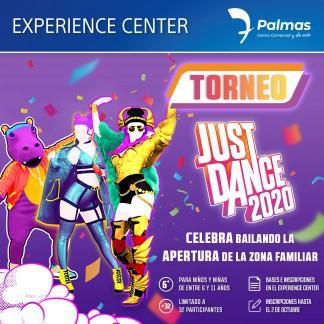BAILA COMO SI NADIE TE MIRARA, EN NUESTRO TORNEO DE JUST DANCE