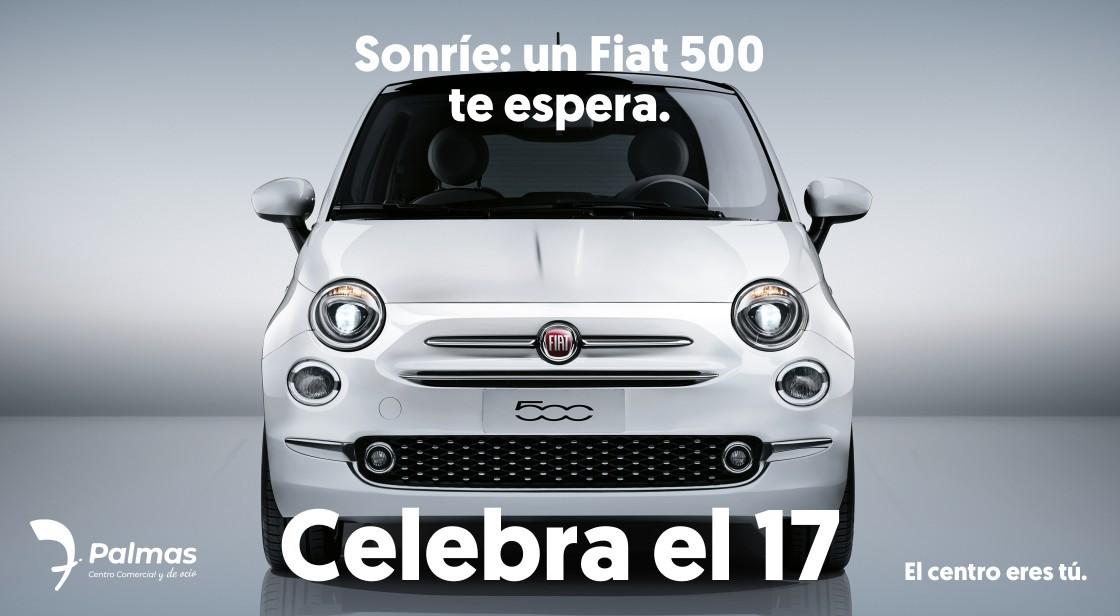 SONRÍE: UN FIAT 500 TE ESPERA
