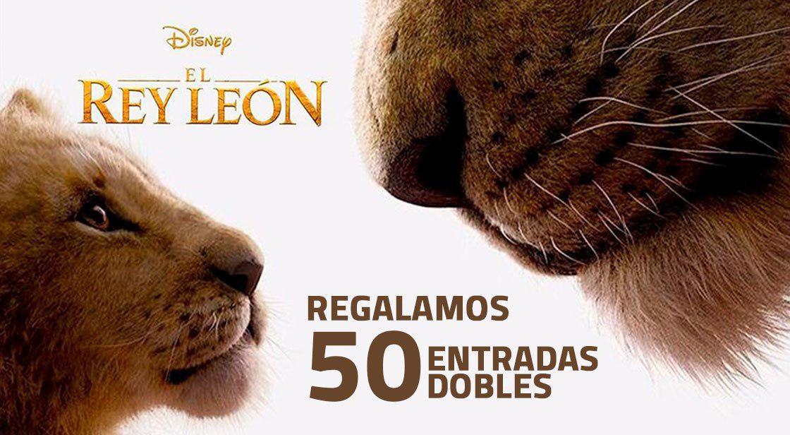 """VEN CON NOSOTROS A VER """"EL REY LEÓN"""", DE DISNEY"""