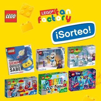 EN LEGO FAN FACTORY ¡TAMBIÉN TE ECHAMOS DE MENOS!