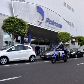 Las motos eléctricas de alquiler llegan al Centro Comercial y de Ocio 7 Palmas