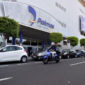 EL MOTOSHARING, ALQUILER DE MOTOS ELÉCTRICAS, LLEGA AL CENTRO COMERCIAL Y DE OCIO 7 PALMAS