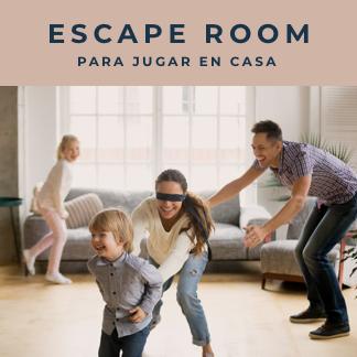 4+1 escape room para jugar en casa
