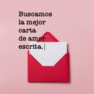 Buscamos la mejor carta de amor escrita