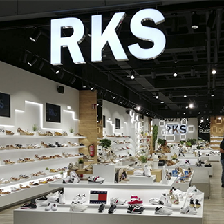 La firma de calzado RKS aterriza en el Centro Comercial y de Ocio 7 Palmas