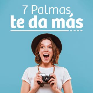 ¡7 PALMAS TE DA MÁS! SEPTIEMBRE TRAE PREMIOS
