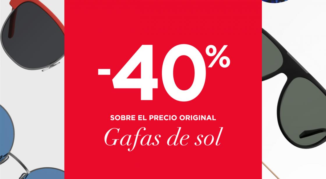 FUND GRUBE: -40% EN GAFAS DE SOL