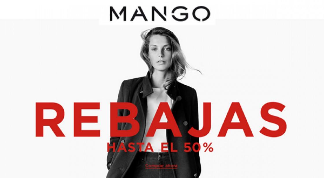 MANGO: REBAJAS HASTA -50%