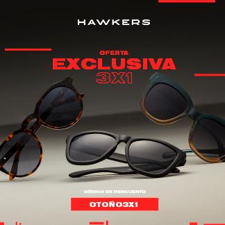 3x1 EN HAWKERS, ¡EXCLUSIVO EN TIENDA!