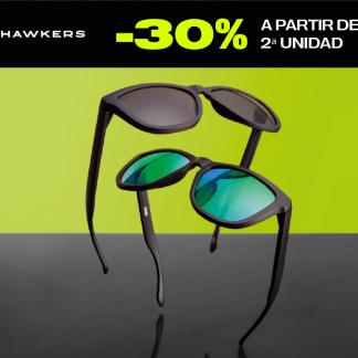 30% EN HAWKERS, A PARTIR DE LA SEGUNDA UNIDAD