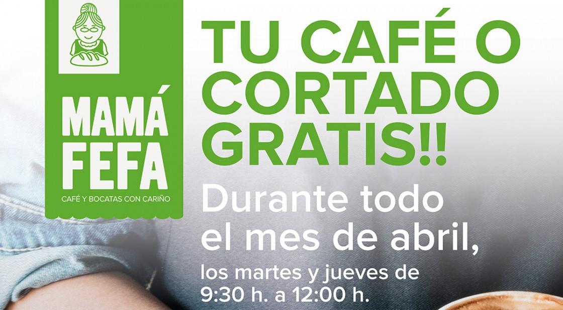 En abril, café gratis en Mamá Fefa
