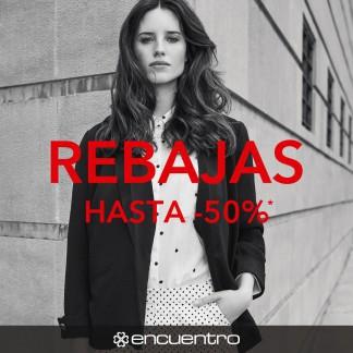 ENCUENTRO: REBAJAS HASTA 50%