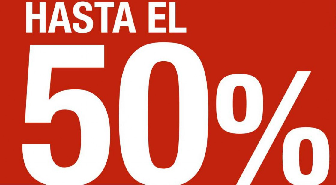 BASE: REBAJAS HASTA -50%